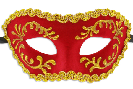 Masques vénitiens rigides - 3 modèles - Masques – 10doigts.fr