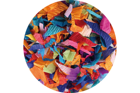 Méli-mélo de papier déchirés - Papiers de crépon – 10doigts.fr