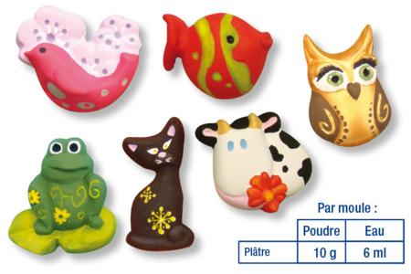 Mini-moules - motifs au choix - Moules – 10doigts.fr