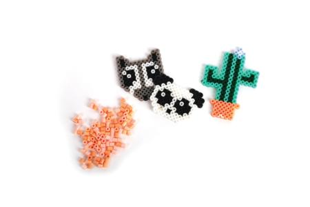 Perles fusibles Mini- Valisette 18000 perles - Perles à repasser – 10doigts.fr