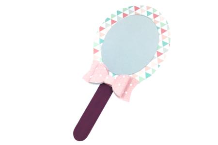Feuille miroir à découper - Miroirs – 10doigts.fr