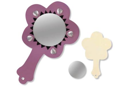 Miroir coeur, fleur ou papillon - Miroirs – 10doigts.fr