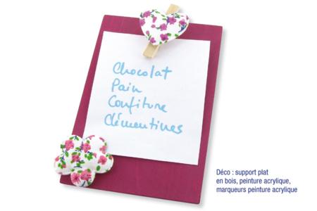 Papillons en tissu molletonné fleuri - 8 pièces - Motifs en tissu molletonné – 10doigts.fr
