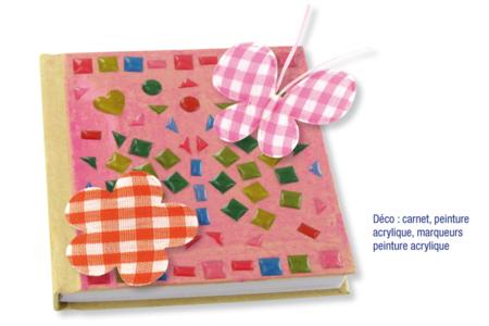 Coeurs en tissu molletonné fleur - 8 pièces - Motifs en tissu molletonné – 10doigts.fr