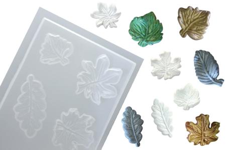Moule 6 feuilles - Moules – 10doigts.fr