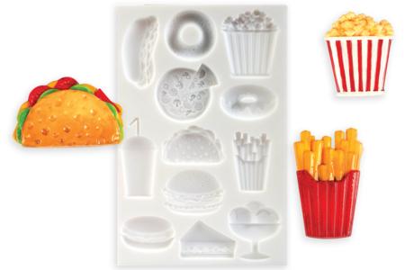 Moule en silicone nourriture - 12 motifs - Moules en silicone – 10doigts.fr