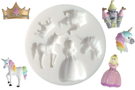 Moule silicone princesse - Moules en silicone – 10doigts.fr