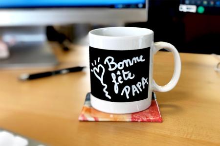 Mug message - Fête des Pères – 10doigts.fr