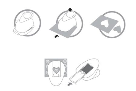 """Perforatrices thème """"Mariage"""" - à l'unité - Perforatrices fantaisies – 10doigts.fr"""