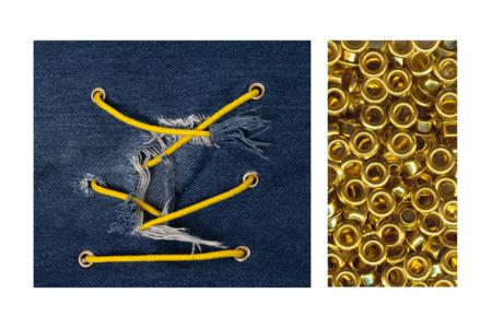 Œillets en métal assortis - Set de 200 - Attache-parisienne et oeillets – 10doigts.fr