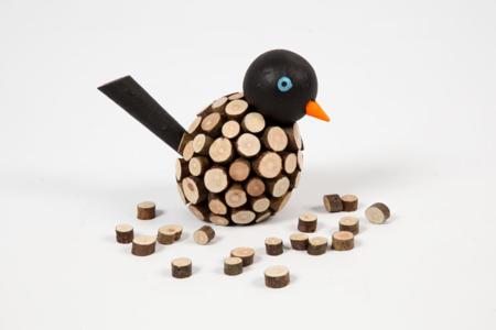 Minis rondelles de bois - Sachet de 230 gr - Bois – 10doigts.fr