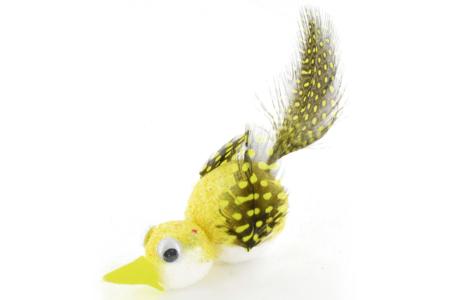 Oiseaux en pompons et plumes - Déco de la maison – 10doigts.fr