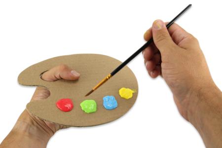 La petite palette d'artiste enfant - Palettes et rangements – 10doigts.fr