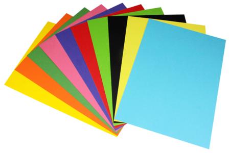Papiers affiche - 10 feuilles couleurs vives - Papier affiche – 10doigts.fr