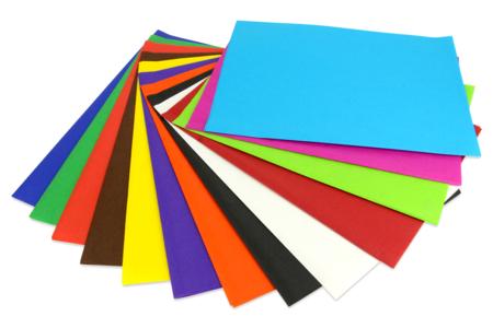 Papiers de soie couleurs vives assorties - 26 feuilles - Papiers de soie – 10doigts.fr
