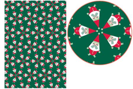 Papier Décopatch Père-Noël - 3 feuilles N°829 - Papiers Décopatch – 10doigts.fr