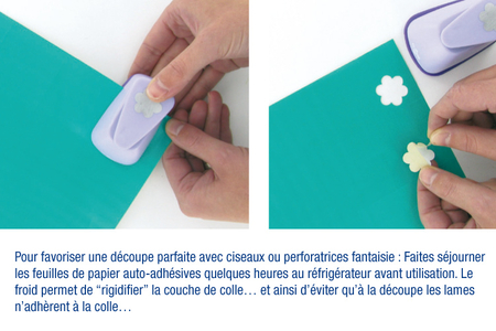 Papier pailleté Noël adhésif - 6 feuilles - Papiers de fêtes – 10doigts.fr