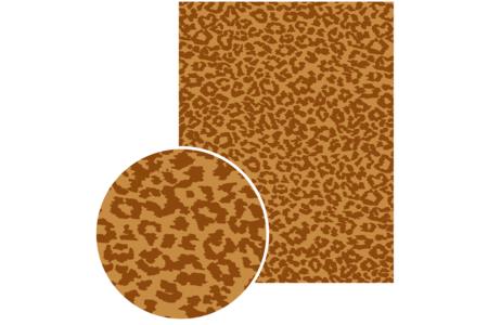 Papiers à encoller pelage animaux - 3 feuilles - Papiers à vernis-coller – 10doigts.fr