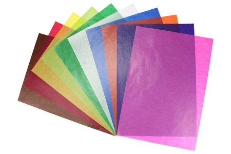 Papiers de Bricolage - Set de 162 - Papiers Unis – 10doigts.fr
