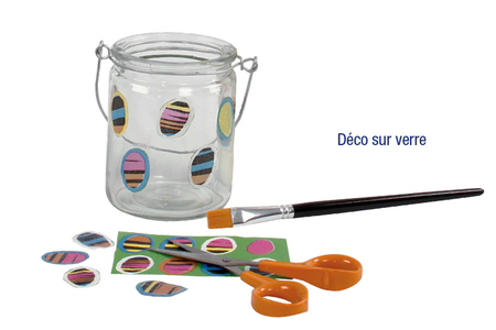 Papiers pour vernis-collage : 8 feuilles Camaïeu Pop - Meilleures ventes – 10doigts.fr