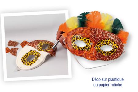 Papiers pour vernis-collage : 8 feuilles peaux d'animaux N° 1 - Animaux – 10doigts.fr