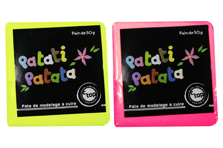 PATATI PATATA, pâte à modeler à cuire au four ménager - Pâtes PATATI PATATA – 10doigts.fr
