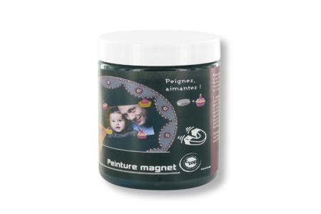 Peinture magnétique noire - Peinture Magnétique – 10doigts.fr