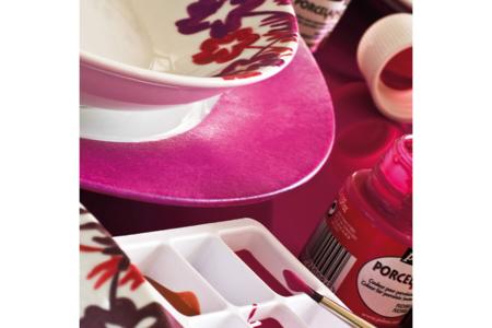 Peinture porcelaine - Set de 10 couleurs - Peintures Verre et Faïence – 10doigts.fr