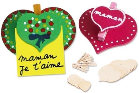 Pense-Bête Coeur à Coeur - Activités enfantines – 10doigts.fr