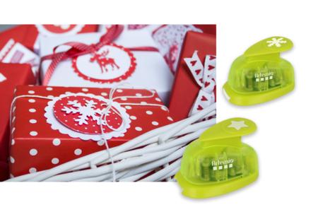 Perforatrices de Noël - à l'unité - Perforatrices fantaisies – 10doigts.fr