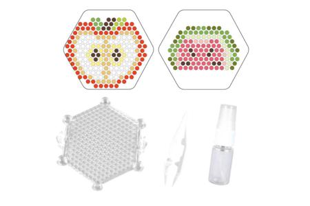 Kit perles d'eau fusibles - Motifs au choix - Kits créatifs prêt à l'emploi – 10doigts.fr