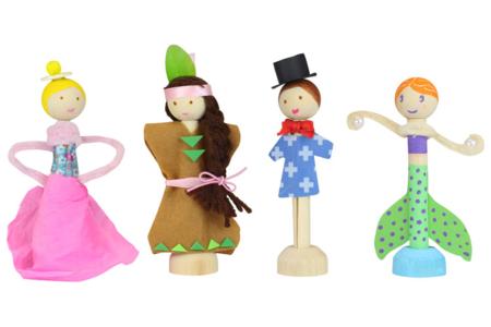 Pinces pour fabriquer des figurines - Lot de 6 - Pinces à décorer – 10doigts.fr
