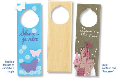 Blason pour poignée de porte - Déco de la maison – 10doigts.fr