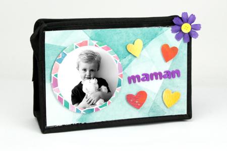 Une jolie trousse de voyage pour Maman - Fête des Mères – 10doigts.fr