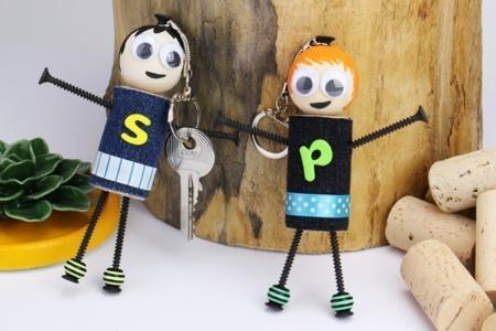 Porte-clés dorés ou argentés - Lot de 10 - Porte-clefs, Anneaux, Mousquetons – 10doigts.fr