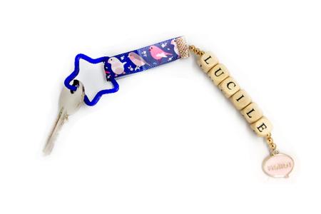 Charm's pastel - Set de 5 - Perles intercalaires & charm's – 10doigts.fr