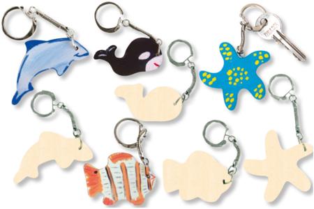 Porte-clefs animaux de la mer - Porte-clefs – 10doigts.fr