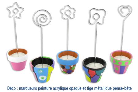 Pots en terre cuite... - Activités enfantines – 10doigts.fr