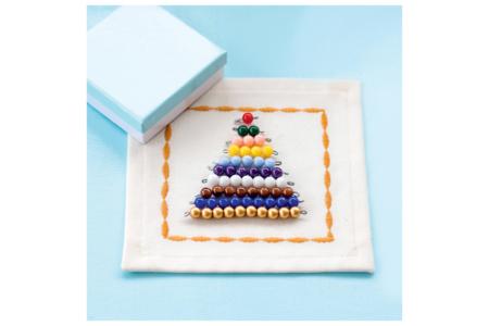 Petites perles rondes brillantes - Set de 200 - Perles acrylique – 10doigts.fr