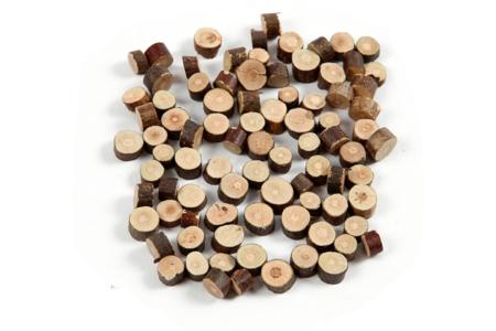 Rondelles bois Ø 7-10 mm - 230 gr - Bois – 10doigts.fr