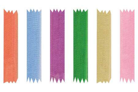 Rubans en organza - 3 ou 20 mètres - Rubans et ficelles – 10doigts.fr