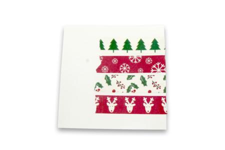 Masking tape Noël - 4 rubans assortis - Accessoires pour décorer – 10doigts.fr