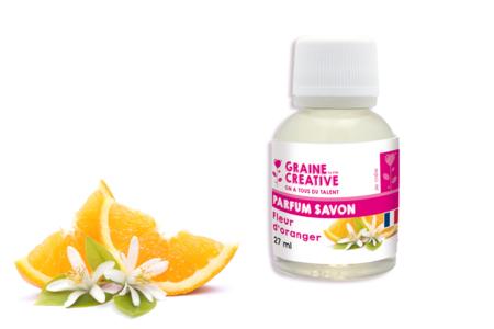 Senteur pour savon Fleur d'oranger - Savons, colorants, senteurs – 10doigts.fr