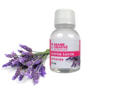 Senteur pour savon Lavande - Savons, colorants, senteurs – 10doigts.fr