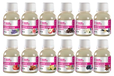 Senteurs parfumées - 27 ml - Colorants, parfums, accessoires – 10doigts.fr