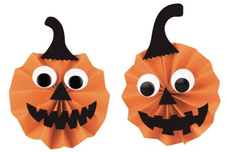 Feuilles de papier couleurs assorties - Set de 10 - Halloween – 10doigts.fr