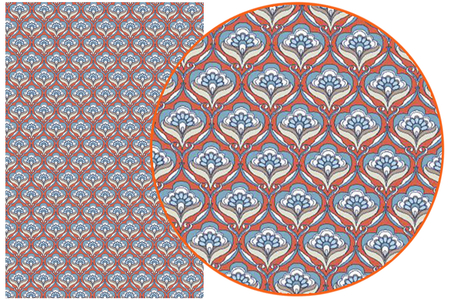 Papier Décopatch Rétro - 3 feuilles  N°767 - Papiers Décopatch – 10doigts.fr