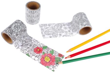 Masking tape à colorier - Masking tape – 10doigts.fr