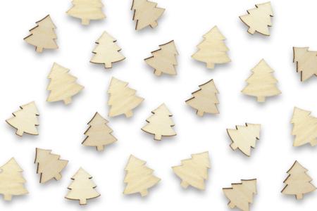 Sapins en bois - Lot de 50 - Noël – 10doigts.fr