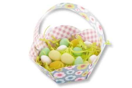 Paniers fleuris - Set de 6 - Kits activités Pâques – 10doigts.fr